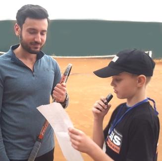 De vorba cu un CAMPION de tenis: Sergiu Cirstea