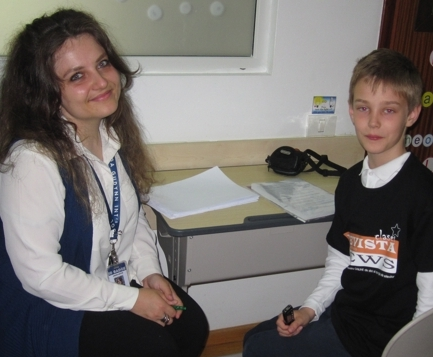 Interviu cu d-na prof. de engleza Andra Anton (USA)