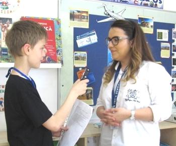 Interviu cu doamna profesoara Adriana Dumitru